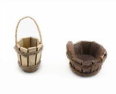 FA61 Wooden Bucket (12 PCS SET)