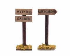 FA62 Fairy Garden Signs (12 PCS SET)