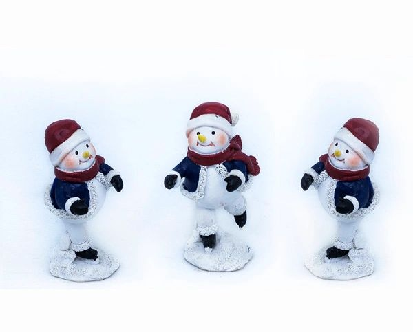 FA88 Skating Snowman (12 PCS SET)