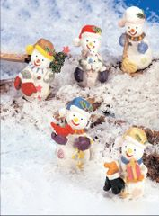 MSN100 Mini Snowman (12 PCS SET)