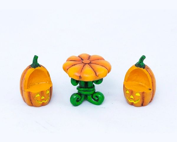 FA79 Pumpkin Table with Chairs Combo (12 PCS SET)
