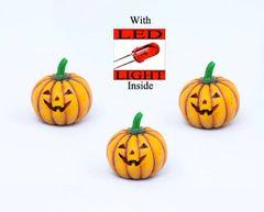 FA82 Light Up Pumpkin with LED Light (12 PCS SET)