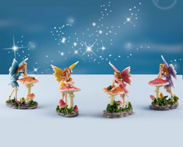 FA45 Fairy with Mushroom (12 PCS SET)