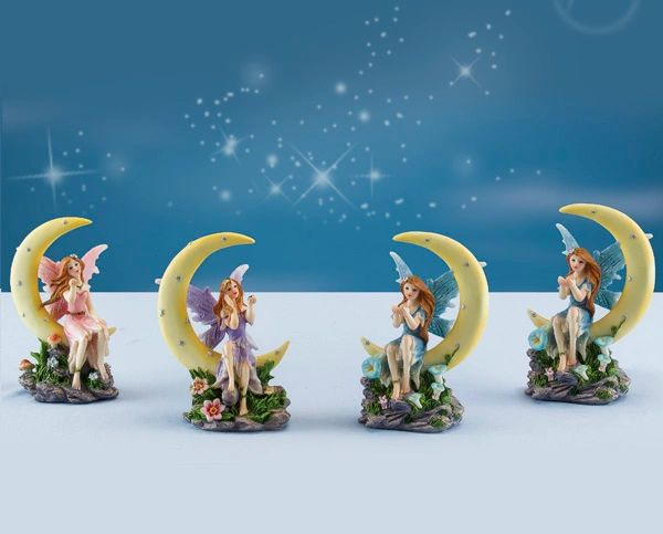 FA49 Fairy Sitting on Moon (6 PCS SET)