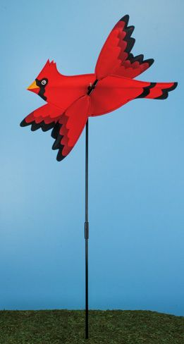 Flying Red Cardinal Spinner (6 PCS SET)