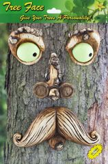 TF13 Mr Mustache Tree Face (6 PC SET)