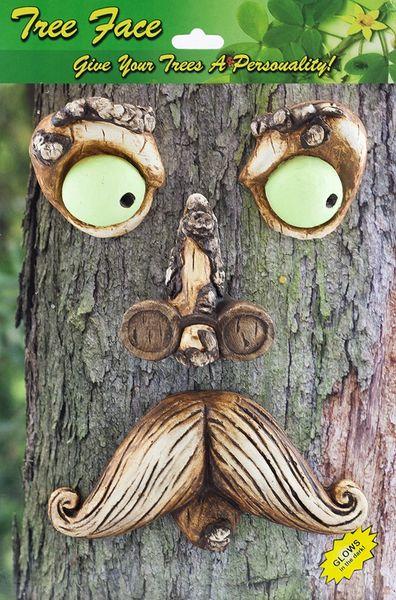 TF13 Mr Mustache Tree Face (6 PC SET)