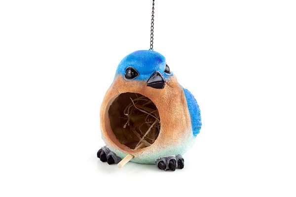 BH231 Blue Bird Bird House (4 PCS SET)