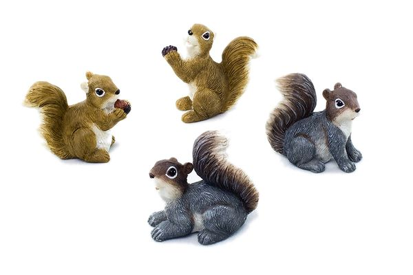MSQ100 Mini Squirrels (12 PC SET)