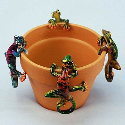 PH422 Md Multicolor Gecko (12 PC SET)
