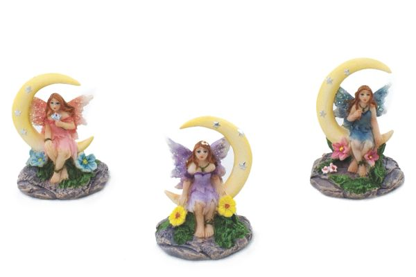 FA97 Mini Fairies on Moon (12 PCS SET)