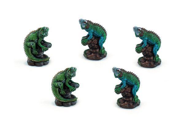 MIG100 Mini Iguanas (12 PCS SET)
