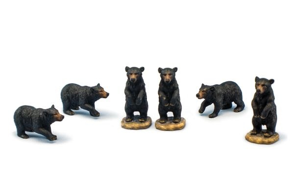 MBB100 Mini Black Bear (12 PCS SET)