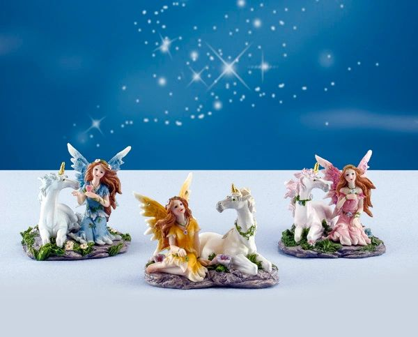 FA48 Fairy with Unicorn (6 PC SET)