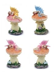 FA130 Fairy Sleeping On Mushroom (12 PCS SET)