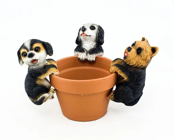 PH604 Puppies Jumbo Pot Hanger (6 PCS SET)