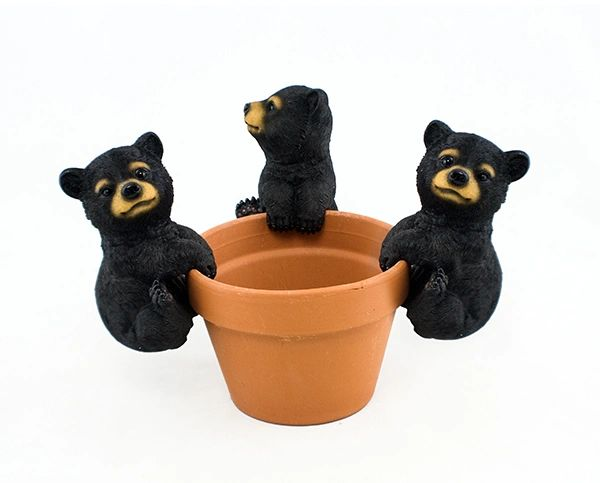 PH607 Black Bear Jumbo Pot Hanger (6 PCS SET)