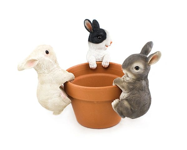 PH609 Rabbit Jumbo Pot Hanger (6 PCS SET)