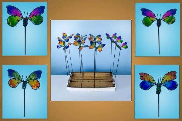 PS128 Butterflies with Free Display (24 PCS SET)