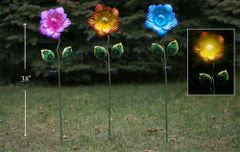 PS132 Solar Flower (6 pcs set)