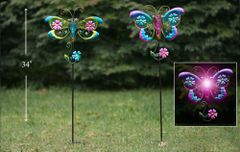 PS133 Butterfly/Dragonfly Solar (6 pcs set)