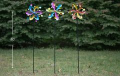 PS136 Metal Wind Spinner (6pcs set)