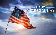 """Memorial Day"" ""May Yours Be Extra Special"""