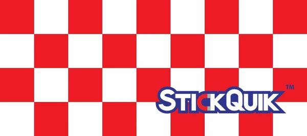 Strip - Checker Red