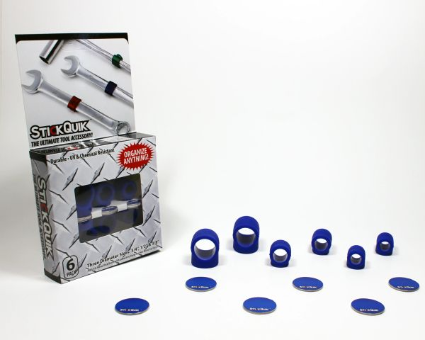 StickQuik™ Three Size Combo Pack - Blue