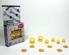 StickQuik™ Three Size Combo Pack - Yellow