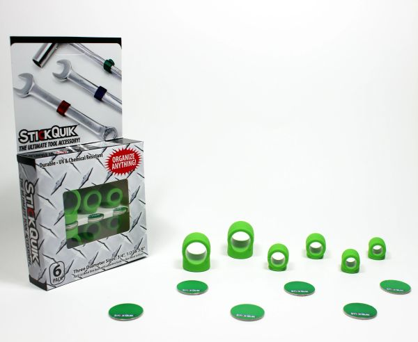 StickQuik™ Three Size Combo Pack - Green