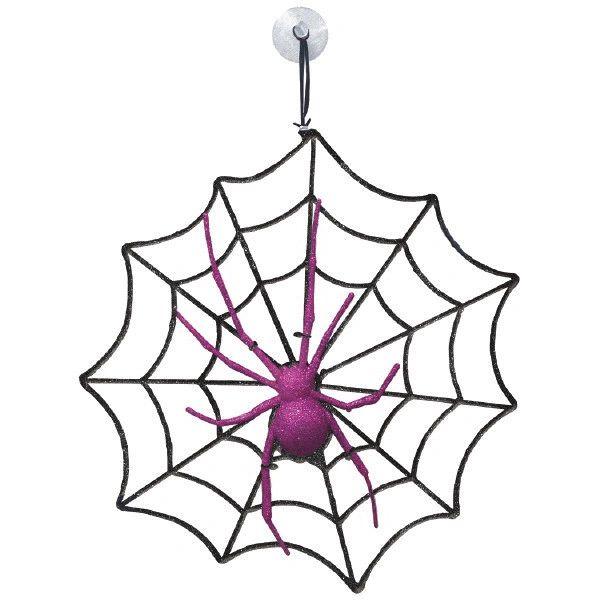 Spider & Web Decoration