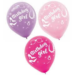 Doll Printed Latex Balloons