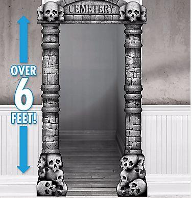 Cemetery Deluxe Doorway Entry