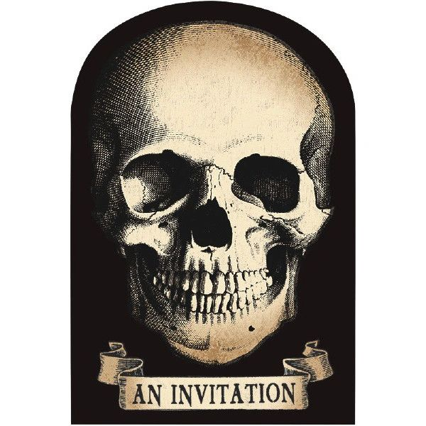 Boneyard Value Pack Invitations, 20ct