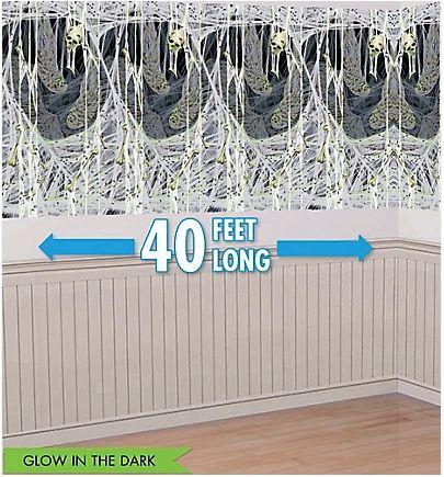 Spider's Lair Scene Setter Plastic Room Roll, 40ft