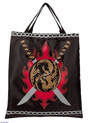 Ninja Fabric Treat Bag