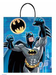 Batman™ Deluxe Plastic Treat or Loot Bag