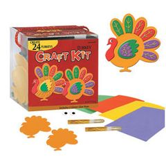 24 Turkeys Craft Kit
