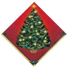 Warmth Of Christmas Beverage Napkins, 16ct