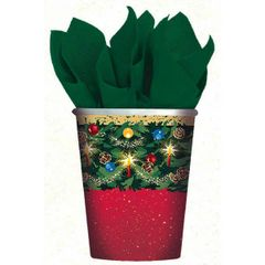Warmth Of Christmas Cups, 9oz - 8ct