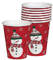 Very Merry Cups, 9oz - 8ct