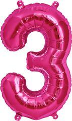"13"" Pink Number #3"
