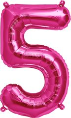 "13"" Pink Number #5"