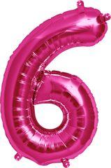 "13"" Pink Number #6"