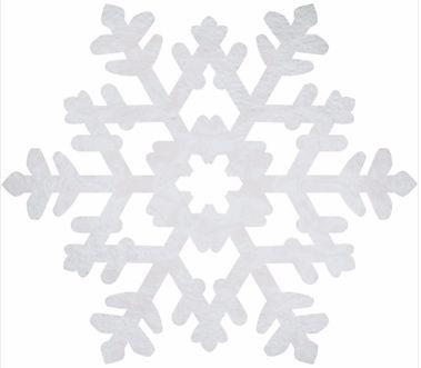 Snowflake Foil Bulk Cutout