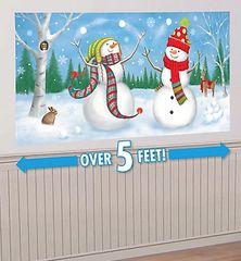 Whimsical Snowman Scene Setters® Add-Ons