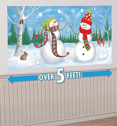 Whimsical Snowman Scene Setters® Add-Ons