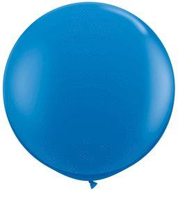 36IN_34 DARK BLUE RED QUALATEX| 1 CT
