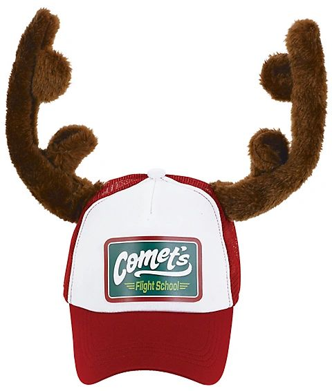 Trucker Hat W/ Plush Antlers